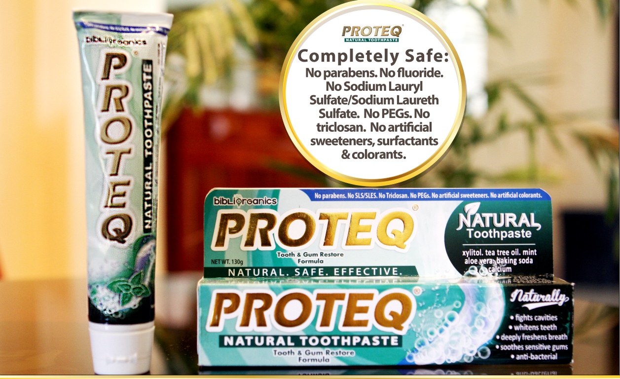 PROTEQ NATURAL TOOTHPASTE2 (Medium)