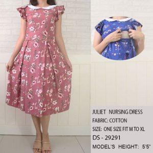 Juliet Dress Pink Floral